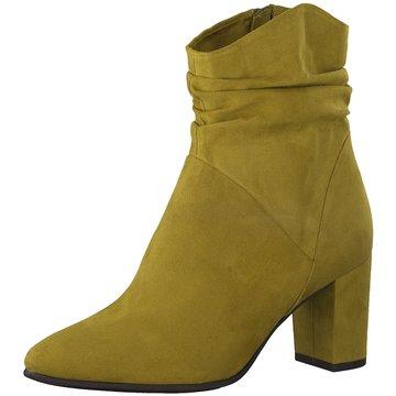 Marco Tozzi Klassische Stiefelette gelb