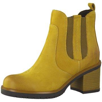 Marco Tozzi Chelsea Boot gelb