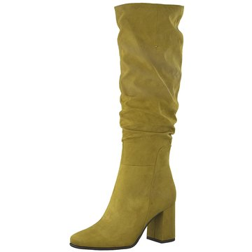 Marco Tozzi Klassischer Stiefel gelb