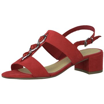 Marco Tozzi Komfort Sandale rot