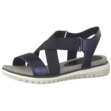 Marco Tozzi Komfort Sandale blau