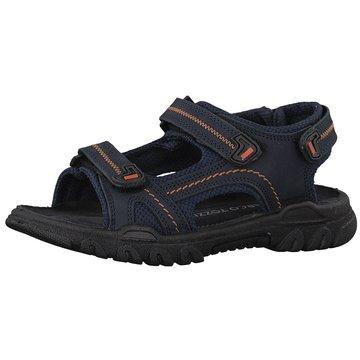 Marco Tozzi Offene Schuhe blau
