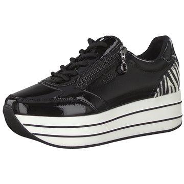 s.Oliver Top Trends Sneaker schwarz