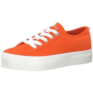 s.Oliver Sneaker Low orange