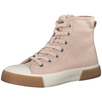 s.Oliver Sneaker High rosa