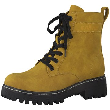 s.Oliver Boots gelb