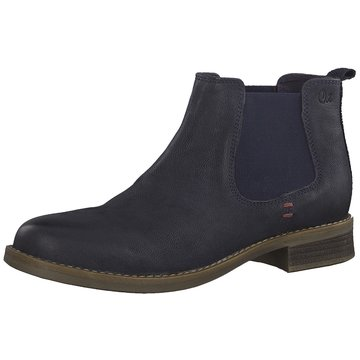 s.Oliver Chelsea Boot blau