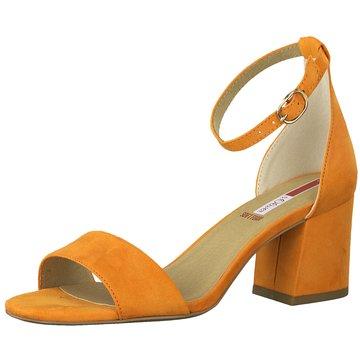 s.Oliver Top Trends Sandaletten orange
