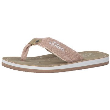 s.Oliver Offene Schuhe coral