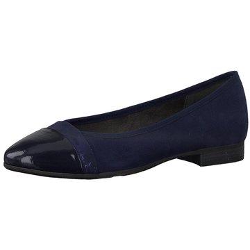 a+w Eleganter Ballerina blau