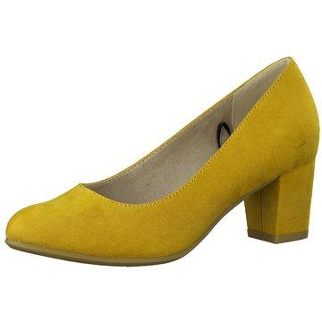 Jana Klassischer Pumps gelb