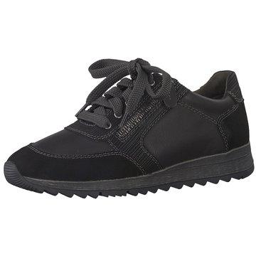 a+w Sportlicher Schnürschuh schwarz