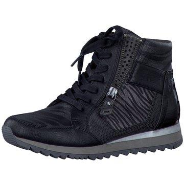 Jana Sneaker High schwarz