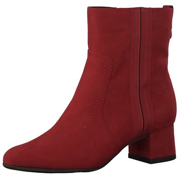 Jana Klassische Stiefelette rot