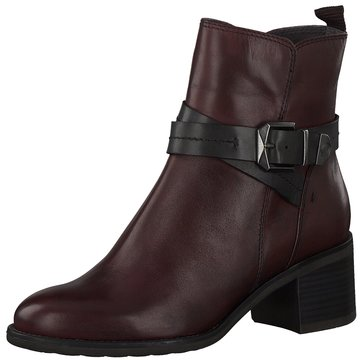 Be Natural Klassische Stiefelette rot