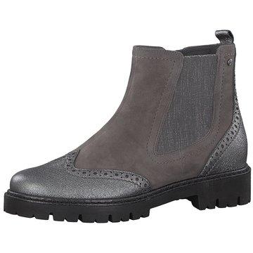 Be Natural Chelsea Boot grau
