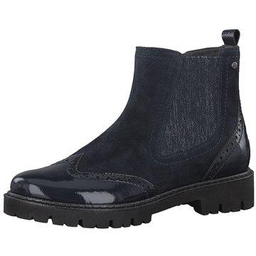 Be Natural Chelsea Boot blau
