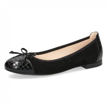 Caprice Eleganter Ballerina schwarz