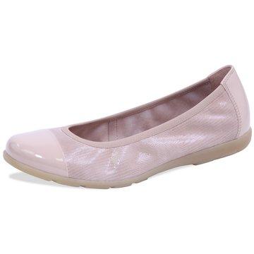 Caprice Klassischer Ballerina beige