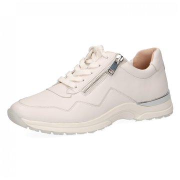 Caprice Komfort Schnürschuh weiß