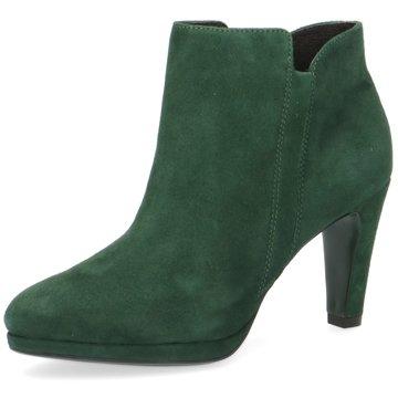 Caprice Ankle Boot grün