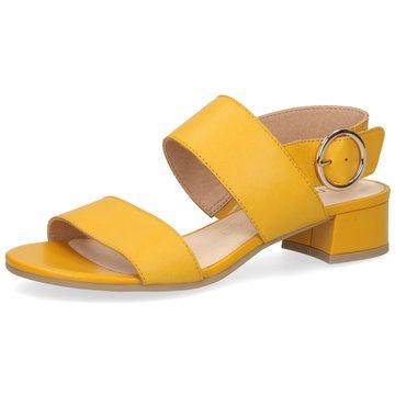 Caprice Sandale gelb
