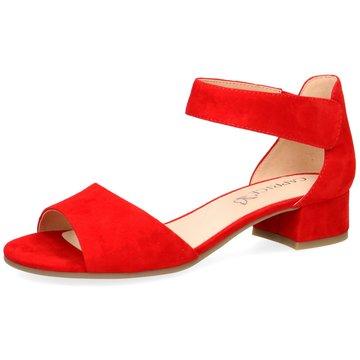 Caprice Komfort SandaleDa.-Sandalette rot