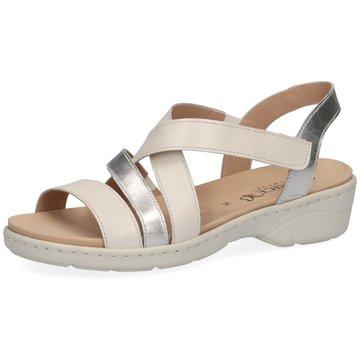 Caprice Komfort Sandale weiß