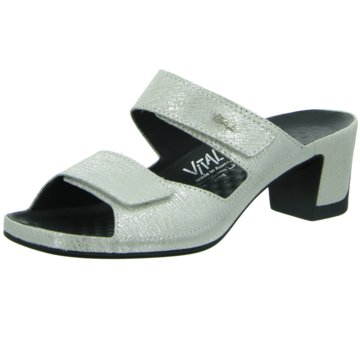 Vital Komfort Sandale silber