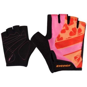 Ziener FingerhandschuheCIELLE JUNIOR BIKE GLOVE - 218500 pink