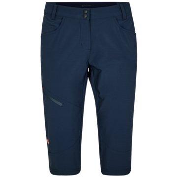 Ziener 3/4 SporthosenNIOBA X-FUNCTION LADY (3/4 PANTS) - 219125 blau