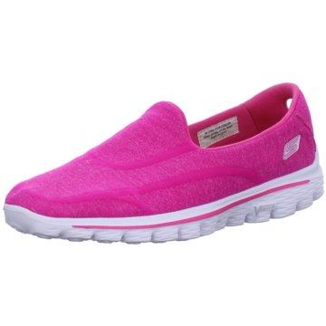 SKECHERS Sportlicher Slipper pink