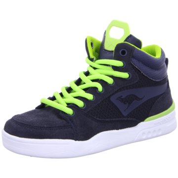 KANGAROOS TV Mandat Sneaker High blau