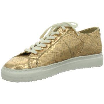 Julia Grey Sneaker Low gold