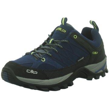 CMP Outdoor SchuhRIGEL LOW TREKKING SHOES WP - 3Q13247 blau