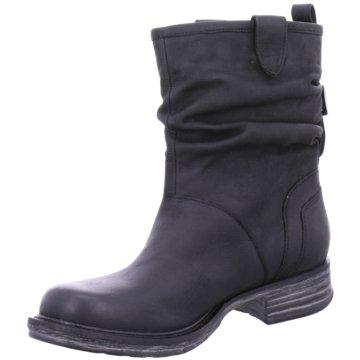 SPM Klassische Stiefelette schwarz