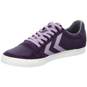 Hummel Sneaker Low lila