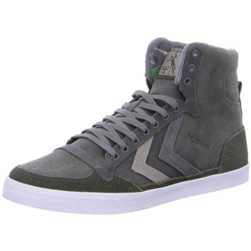Hummel Sneaker High grau