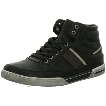 HIS Sneaker High schwarz