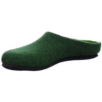 Magicfelt Hausschuh grün