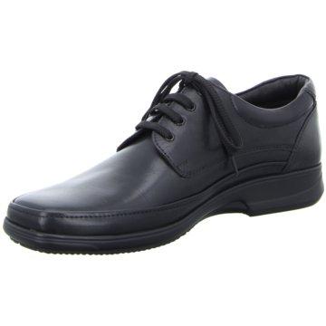 Ara Men Komfort Schnürschuh schwarz