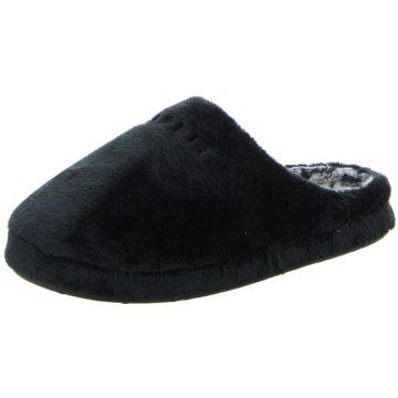 ESPRIT Hausschuh schwarz
