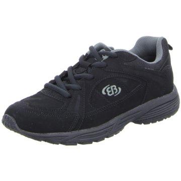 Brütting/Lico Sportlicher Schnürschuh schwarz