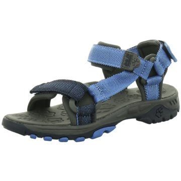 Jack Wolfskin Sandale blau
