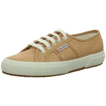 SUPERGA Sneaker gold