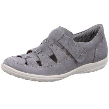 JOMOS Komfort Sandale grau