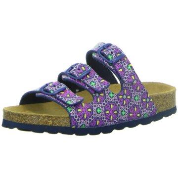 LONGO Offene Schuhe lila