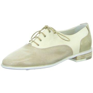 Everybody Eleganter Schnürschuh beige