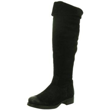 Lazamani Stiefel schwarz