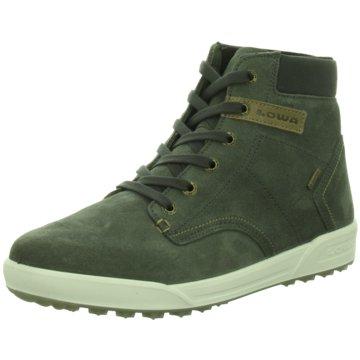 Lowa Sneaker High grau
